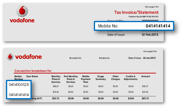 How to Check Name & Address of Vodafone Mobile Numbers